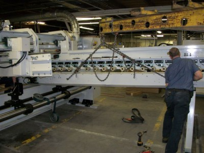 Hampton Industrial Services Rigging the Topra FFG at Haire