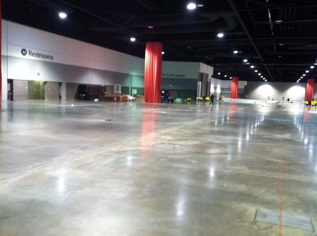 moving corrugated machinery into Super Corr Expo