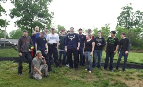 Hampton Industrial Paintball Outing